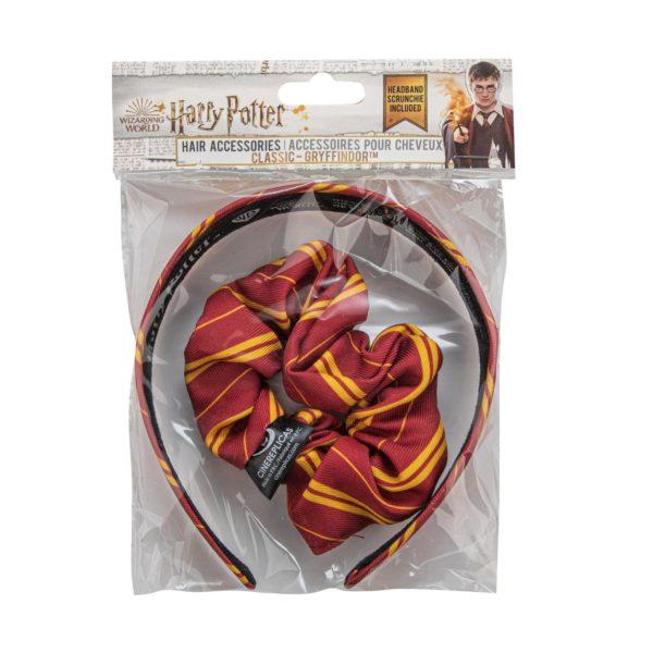 Harry Potter diadem och scrunchy Gryffindor