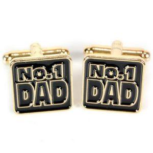 Manschettknappar 2-pack - No. 1 Dad