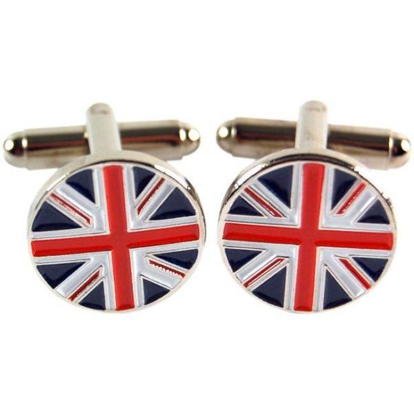 Manschettknappar 2-pack - Union Jack (Brittiska Flaggan)