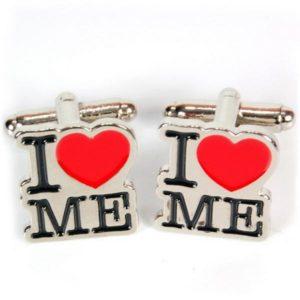 Manschettknappar 2-pack - I Love Me