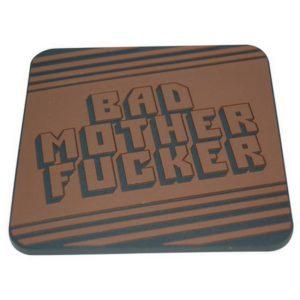 """Underlägg 2-pack Retro - Pulp Fiction """"Bad Mother Fucker"""""""