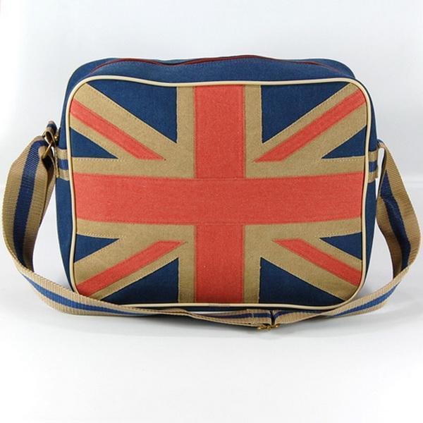 Union Jack Classic Sportbag/Väska - Brittiska Flaggan