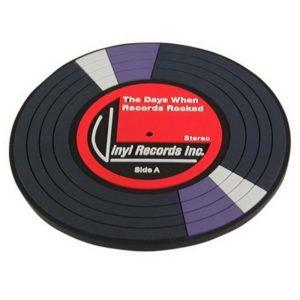 Underlägg 2-pack Retro - Vinylskiva