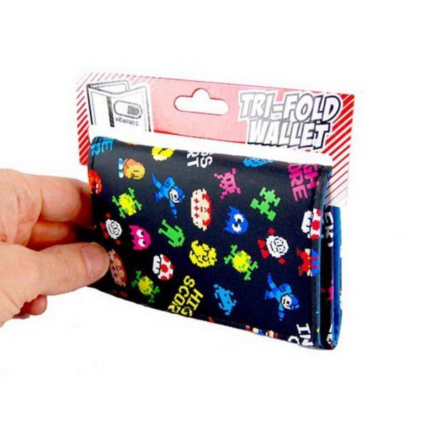 Plånbok Retro Pixelkaraktärer - Pixel Characters