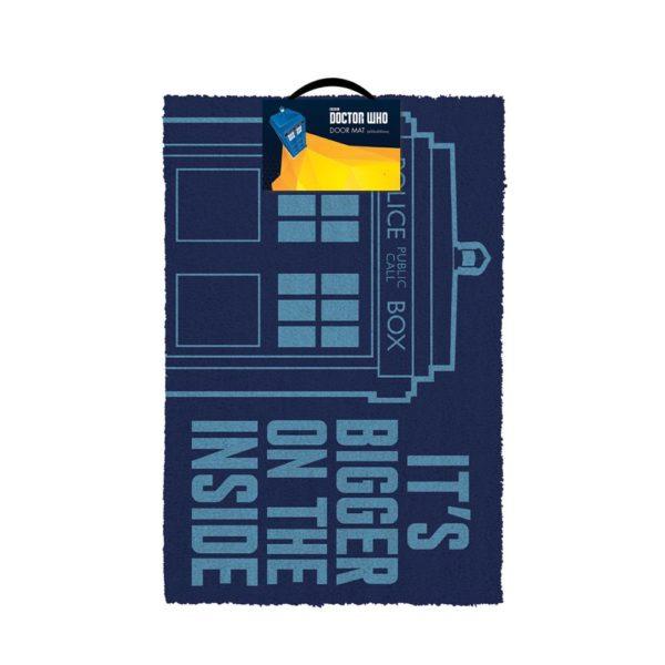 Doctor Who Dörrmatta It's Bigger On The Inside (40x60cm)
