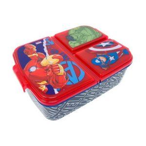 Avengers stor matlåda med 3 fack BPA fri Marvel