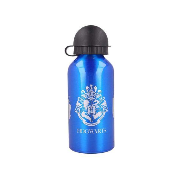Harry Potter Vattenflaska Aluminium Hogwarts och de 4 elevhemmen