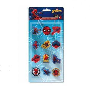 Spiderman suddgummi 12-pack Marvel