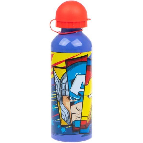Avengers blå flaska av aluminium 500ml Marvel
