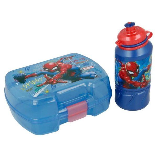 Spiderman matlåda och flaska BPA fri Marvel