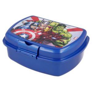 Avengers blå matlåda BPA fri Marvel