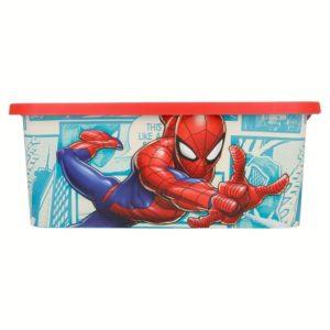 Spiderman förvaringslåda 13L Marvel