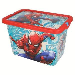 Spiderman förvaringslåda 7L Marvel