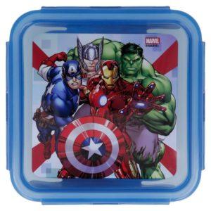 Avengers låda med luft- och vattentät förslutning 500ml BPA fri Marvel