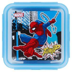 """Spiderman """"Thwip"""" låda med luft- och vattentät förslutning 500ml BPA fri Marvel"""