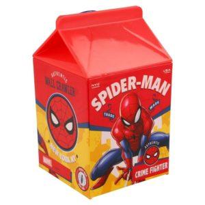 Spiderman flaska formad som ett mjölkpaket 460ml Marvel