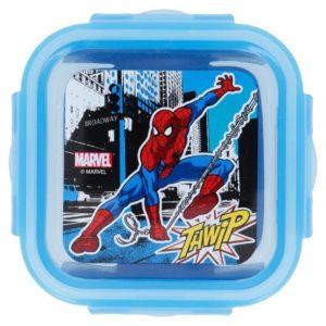 """Spiderman """"Thwip"""" låda med luft- och vattentät förslutning 290ml BPA fri Marvel"""