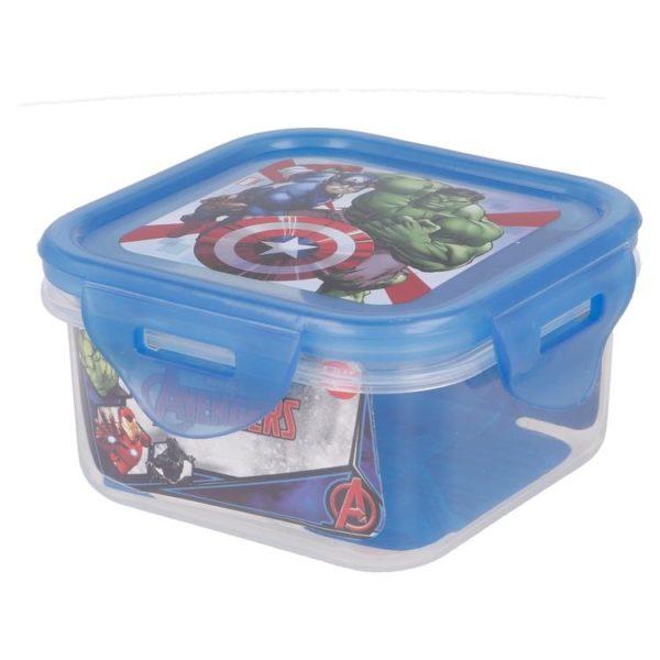 Avengers låda med luft- och vattentät förslutning 290ml BPA fri Marvel