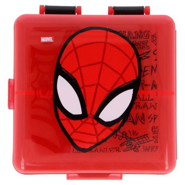 Spiderman matlåda med 3 fack BPA fri Marvel