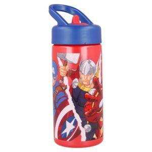 Avengers flaska med sugrör 410ml BPA fri Marvel