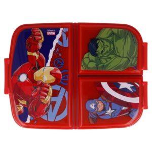 Avengers matlåda med 3 fack BPA fri Marvel