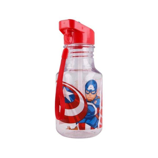 Avengers flaska formad som en glödlampa 370ml BPA fri Marvel