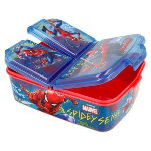 Spiderman graffiti matlåda med 3 fack BPA fri Marvel