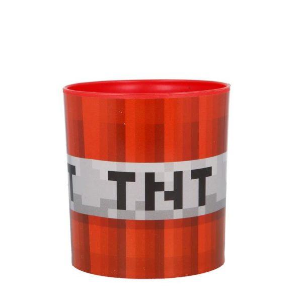 TNT Mikrovågsmugg 350ml Minecraft