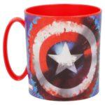 Captain America Mikrovågsmugg 350ml Marvel