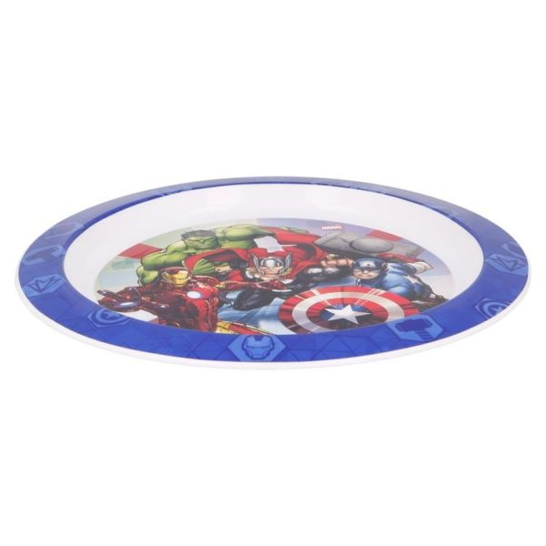 Avengers tallrik BPA fri Marvel