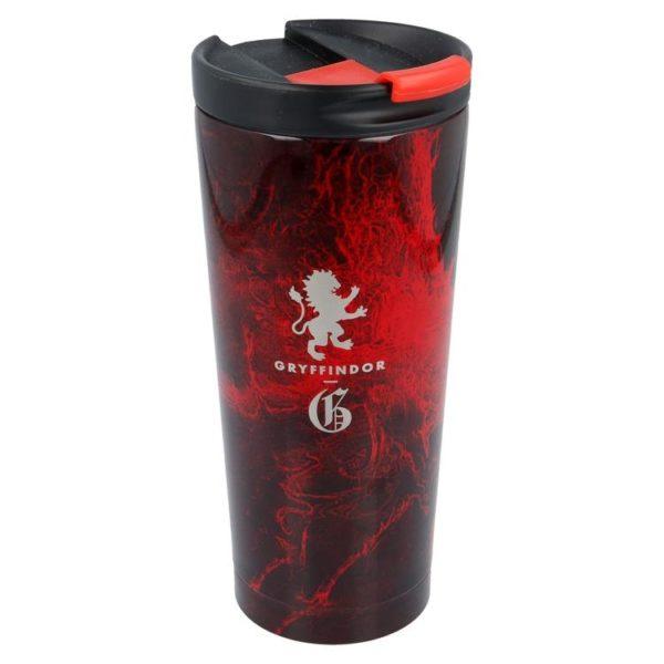 Harry Potter röd termosmugg av rostfritt stål 425ml Gryffindor