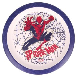 Spiderman tallrik 230mm BPA fri Marvel