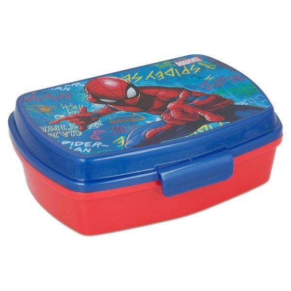 Spiderman graffiti matlåda BPA fri Marvel