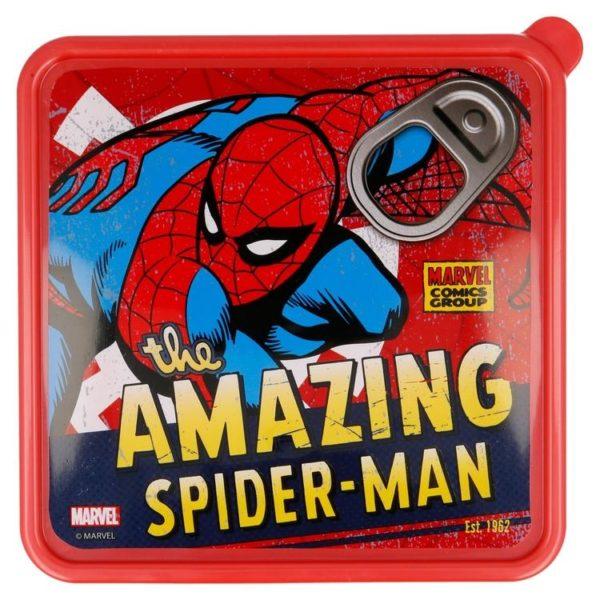 """The Amazing Spider-Man"" kvadratisk låda Marvel"