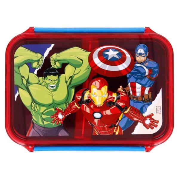 Avengers matlåda med lufttät förslutning 790ml BPA fri Marvel
