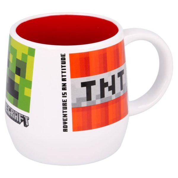 TNT/Creeper keramikmugg 400ml Minecraft