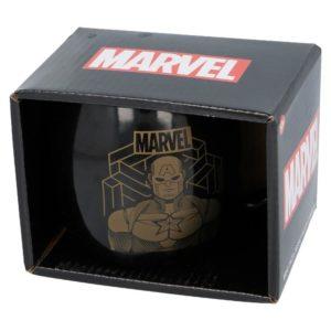 Captain America glob keramikmugg 380ml Marvel