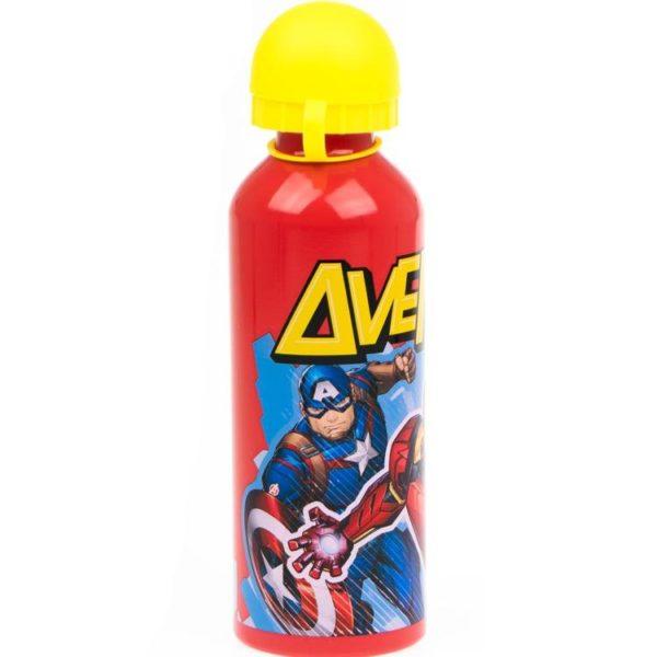 Avengers rödgul flaska av aluminium 500ml Marvel