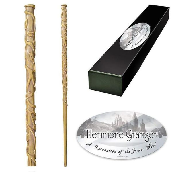 Hermione Granger Trollstav Handmålad Replika