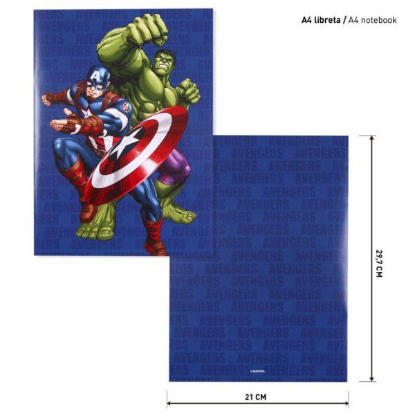 Avengers Block- och Pennset Marvel