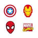 Suddgummi 4st Marvel