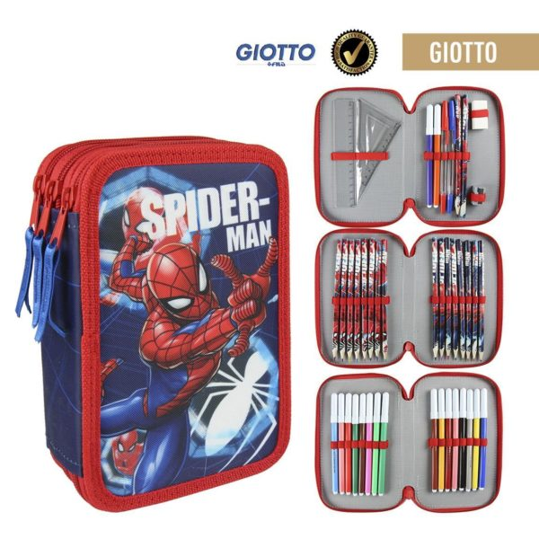 Spiderman Pennfodral 38st Giotto-pennor Marvel