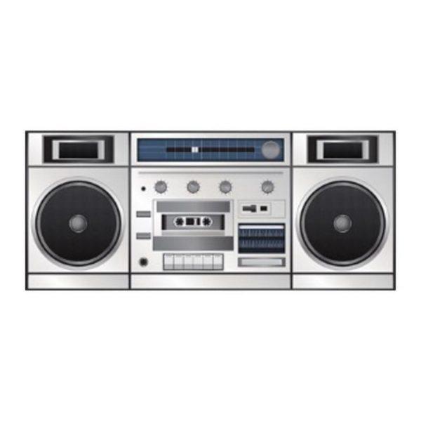 Ghettoblaster / Boombox Mugg med Retromotiv
