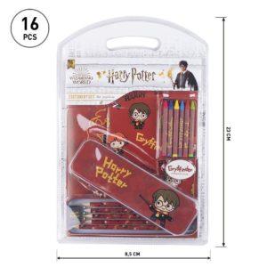 Gryffindor Block- och Pennset Harry Potter