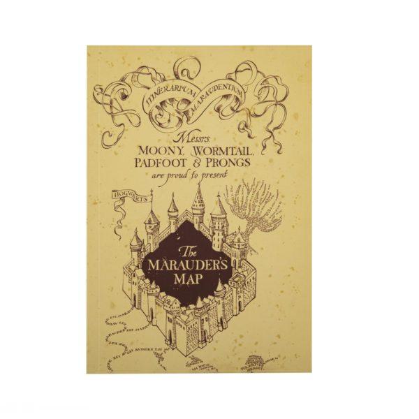 Marauder's Map Anteckningsblock Harry Potter