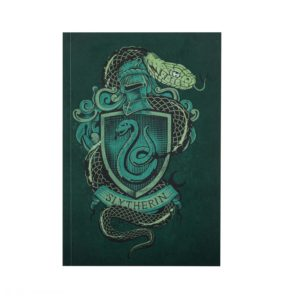 Slytherin Anteckningsblock Harry Potter