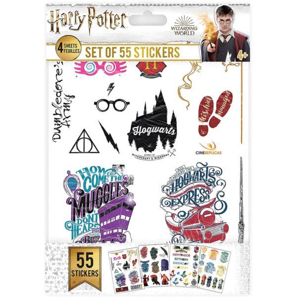 Klistermärken (55st) Harry Potter