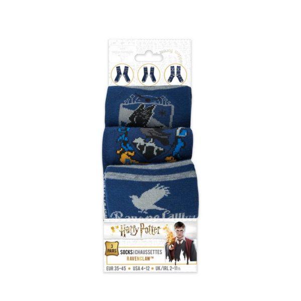 Ravenclaw Strumpor (3-pack) Harry Potter