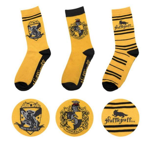 Hufflepuff Strumpor (3-pack) Harry Potter