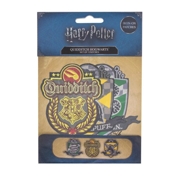 Quidditch Tygmärke (3st) Harry Potter
